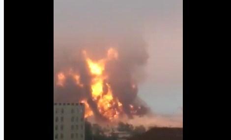 Çin'de kimya tesisinde patlama: 44 ölü, 640 yaralı