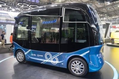 Çin'de sürücüsüz otobüslerin seri üretimine başlandı