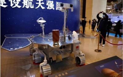Çin'in uzay aracı Mars'a indi
