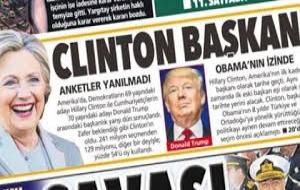 'Clinton Başkan seçildi' manşetiyle çıkan Posta gazetesi özür diledi