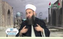 Cübbeli: Müslüman Müslüman'ın parmağını yalamalı!