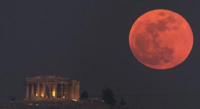 Cuma günü en uzun Kanlı ay tutulması  yaşanacak