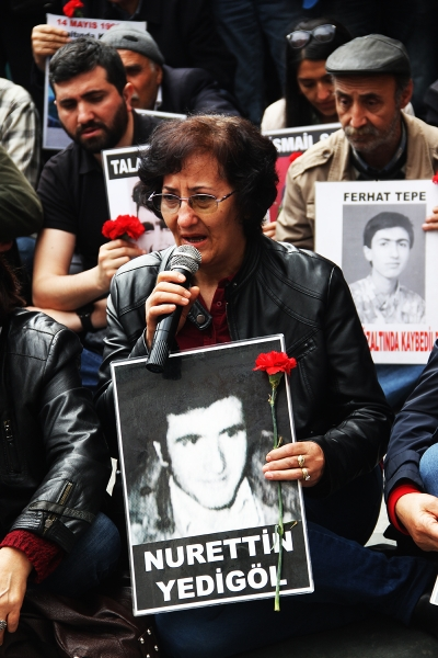 Cumartesi Anneleri, 1981'de gözaltında kaybedilen Nurettin Yedigöl'ün akıbetini sordu