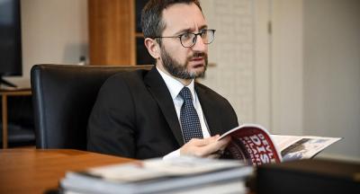 Cumhurbaşkanlığı İletişim Başkanı Altun'a yeni görev
