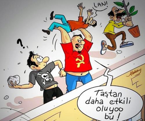 Skandal Ahmet Atakan karikatürü!