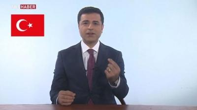 Demirtaş TRT'de konuşma yaptı! Darağacında Denizdik, boyun eğseydik Mahir olmazdık!