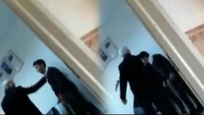 Derse geç kalan öğrencilere tokat atan müdüre soruşturma