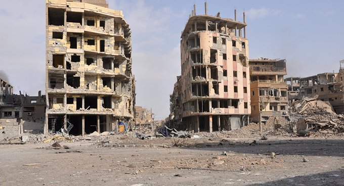Deyr ez Zor'da patlama: Ölü ve yaralılar var