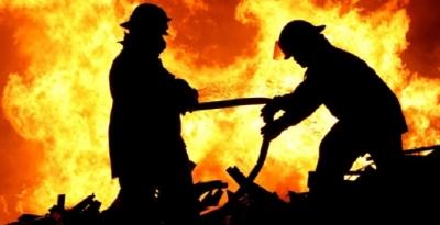 Diriliş Ertuğrul platosunda yangın!