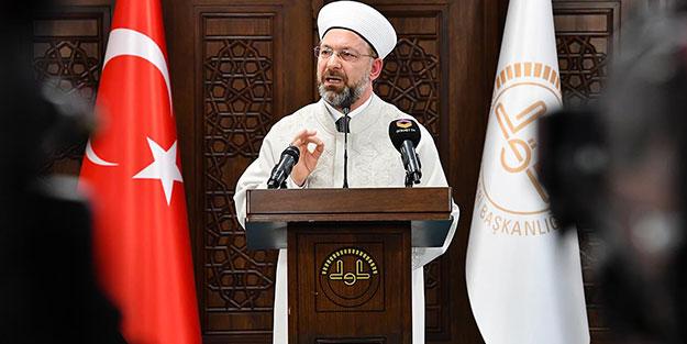 Diyanet İşleri Başkanı Ali Erbaş: İslamafobi bir akıl tutulmasıdır