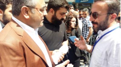 Diyarbakır'da beyaz tülbentler miting alanına sokulmadı, CHP Milletvekili Tanrıkulu, polisle tartıştı