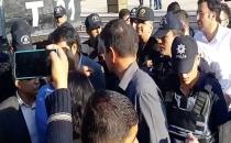 Diyarbakır'daki protestoya müdahale; 25 gözaltı!