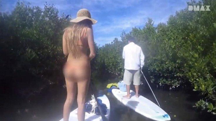 DMAX'in bikinili kadınları sansürlemesi tepki gördü