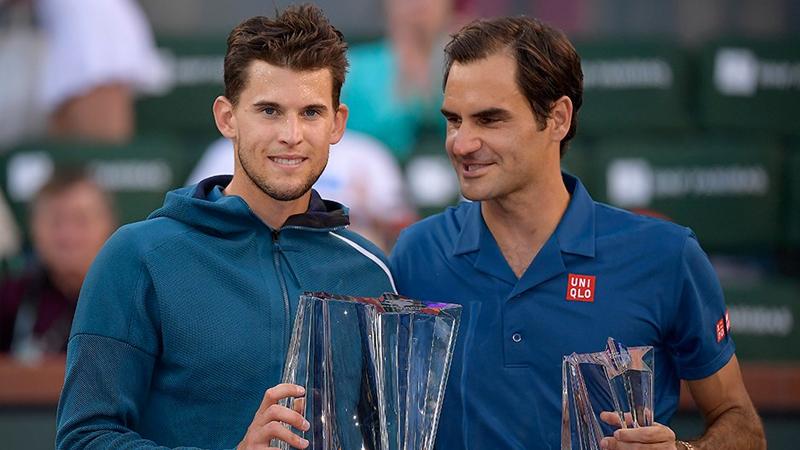 Dominic Thiem, Federer'i yenerek şampiyon oldu