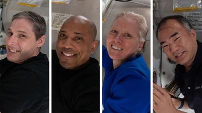 Dört astronot dünyaya döndü