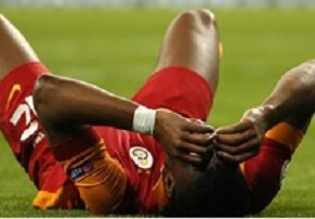 Madrid maçında Drogba sakatlandı!