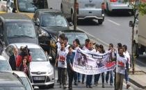 Dünya İnsani Zirvesi'ni protesto eden 12 kişi gözaltına alındı!