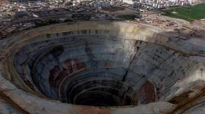 Dünyanın yer kabuğunun altında katrilyonlarca ton elmas olduğu ortaya çıktı