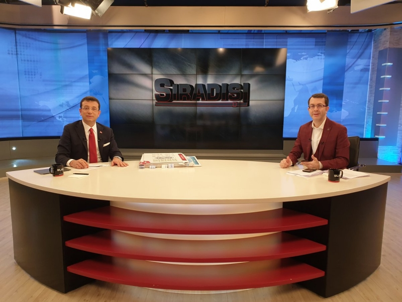Ekrem İmamoğlu ile Turgay Güler arasında tartışma: Kaç dakika susacaksın!