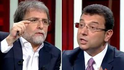 Ekrem İmamoğlu'ndan Ahmet Hakan açıklaması: Beni kimden kaçırıyorsunuz