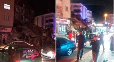 Elazığ depreminde 15 kişi hayatını kaybetti,100'e yakın yıkılan ev var!