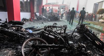 Endonezya'da 154 mahkum cezaevinden kaçtı
