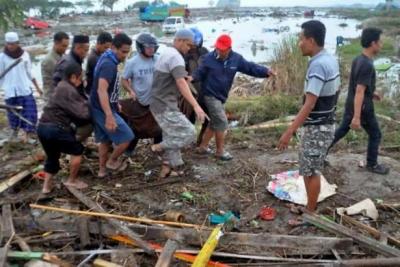 Endonezya'da tsunami: 30 kişi hayatını kaybetti