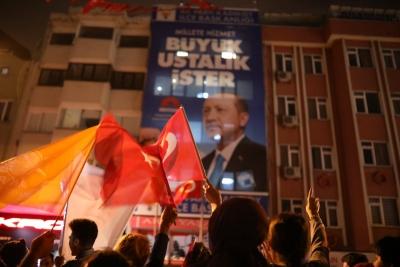 Erdoğan balkon konuşmasını iptal etti!