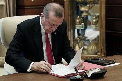 Erdoğan beş üniversiteye rektör atadı