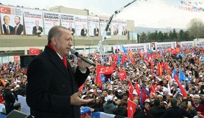 Erdoğan: Biz bu millete efendi olmaya geldik, hizmetkar olmaya değil
