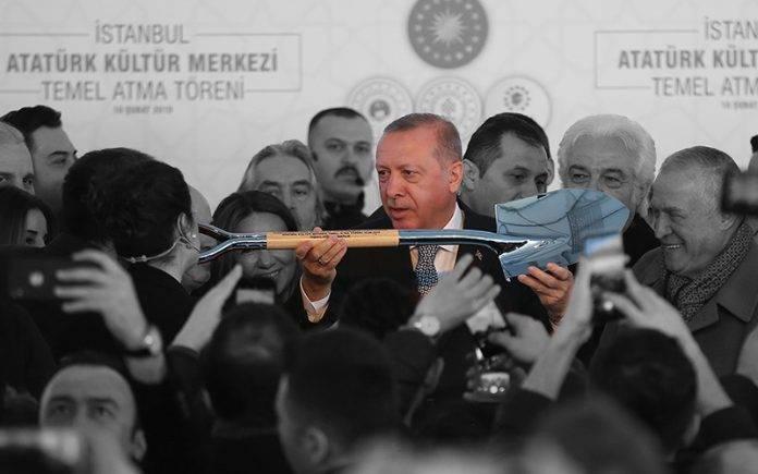 Erdoğan: Hanım kardeşlerim, 200-250'şer gramlık çay poşetleri var, teşkilatımız teslim edecek