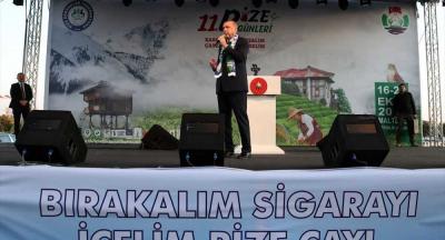 Erdoğan: İnanın sigara haramdır, Diyanet İşleri Başkanımız da söyledi