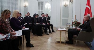Erdoğan: İsim vermeyeceğim, sadece bir ülke 'Size gerekli desteği vereceğiz' dedi