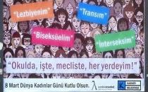 Erdoğan'dan LGBTİ afişi yorumu: Kadınlara hakaret eden bu zihniyet kadın düşmanıdır!