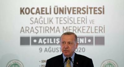 Erdoğan: Maalesef maskesini takmayan veya çenesinin altında barındıran vatandaşlarım var