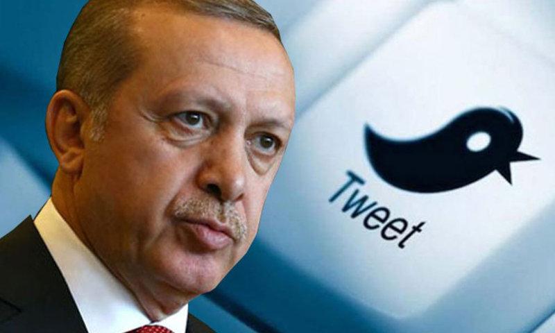 Erdoğan: Şahsımın Twitter kullanıcı sayısı 13,5 milyona yaklaştı