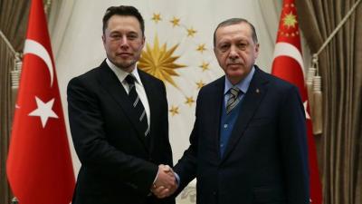 Erdoğan: Sevgili kardeşim, Elon Musk ile bir telefon görüşmesi gerçekleştirdik