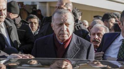 Erdoğan: Türkiye bu büyük felaketin yaralarını birlik beraberlik içinde sarmaya başlamıştır