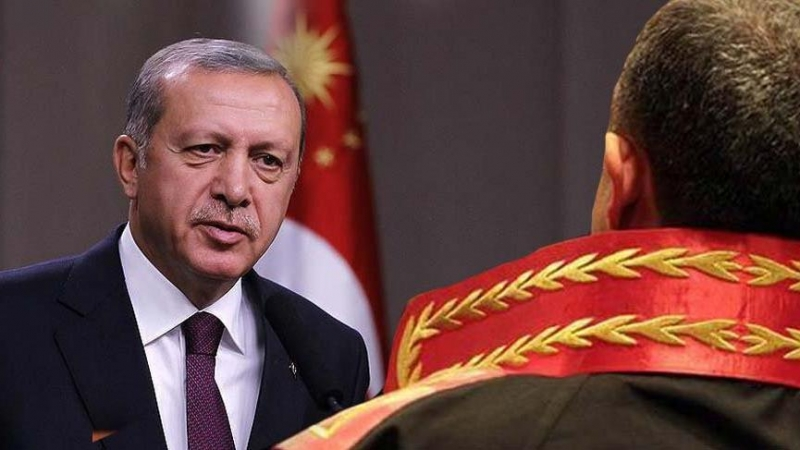 Erdoğan'a hakarete beraat kararı veren hakime sürgün