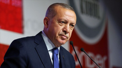 Erdoğan'dan belediye çalışanlarına: Sizi memurluktan mı atacaklar; arkanızda kapı gibi Memur-Sen camiası var