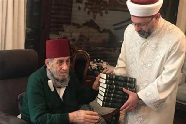 Erdoğan'dan Diyanet Başkanı'na destek