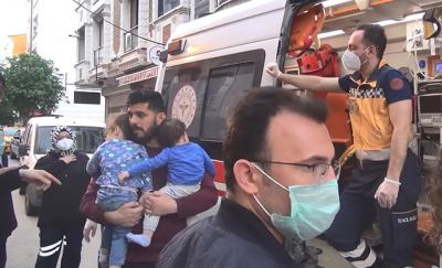 Esenyurt'ta çocuklarını eşinin kapısına bırakıp kaçan anne aranıyor