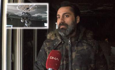 Evi yanan Sedat Kapurtu: Belediyenin ayırdığı bir otelde kalıyoruz