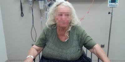 Evine girdiği yaşlı kadını taciz edip dövdü