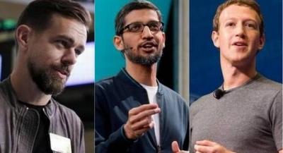 Facebook, Twitter ve Google'ın CEO'ları ifade verecek