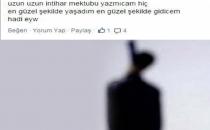 Facebook'ta intihar notu paylaşıp kendini astı!