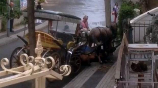 'Fayton kaldırıldı' denilen Büyükada'da atlara fayton işkencesi devam ediyor