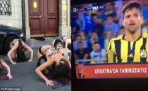 Fenerbahçe maçındaki prezervatif reklamı FEMEN'i kızdırdı!