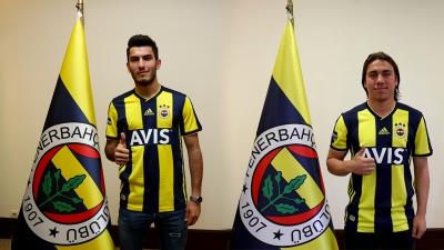 Fenerbahçe'den iki genç futbolcusuna profesyonel sözleşme