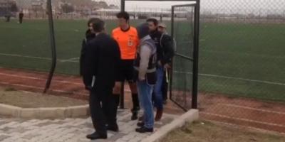 FETÖ'den aranan hakem, maçta gözaltına alındı